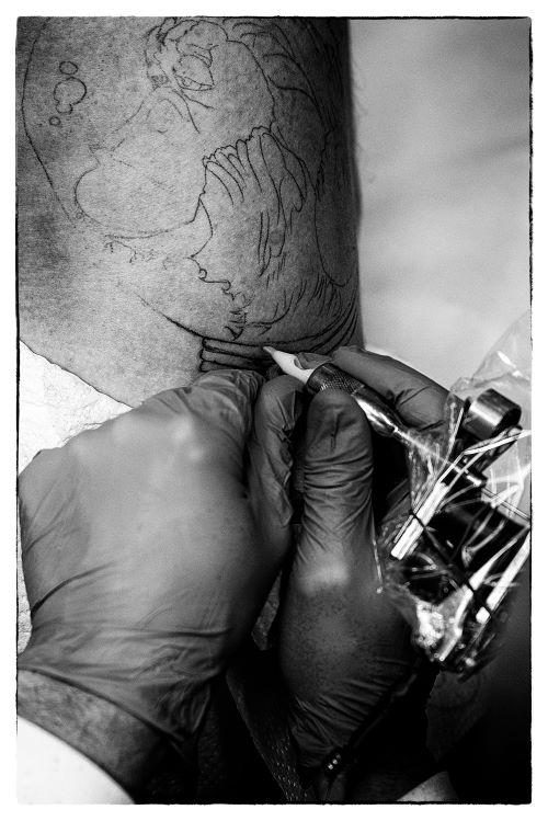 »Pred leti so bile tetovaže res bolj enostavne, ampak z več vsebine.«